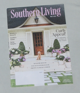 May 2021 Southern Living magazine