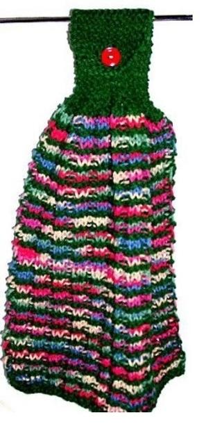 Free Waffle Stitch Hanging Dish Towel Pattern Knitting Listia