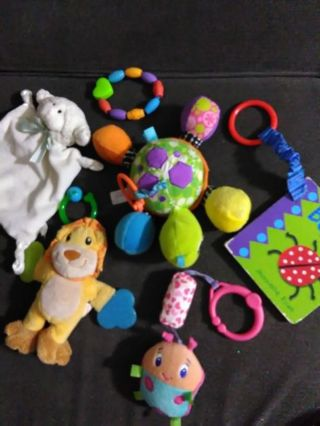 Lot of great baby toys