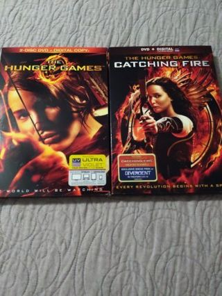 DVD The Hunger Games/Catching Fire