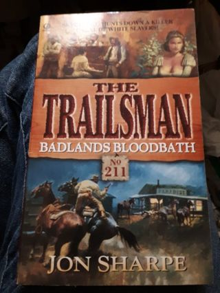 The Trailsman, Badlands Bloodbath-Jon Sharpe