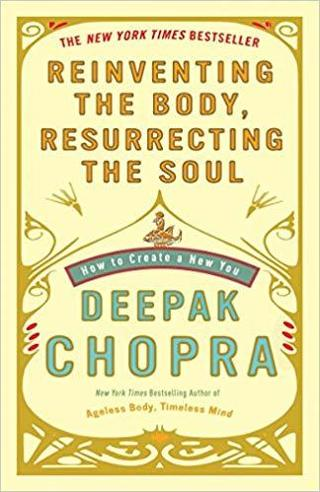 cd AUDIOBOOK- REINVENTING THE BODY, RESURRECTING THE SOUL by DEEPAC CHOPRA