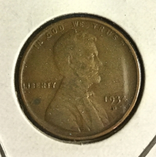 2 pennies from the 30's!