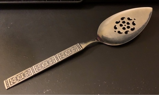Vintage Cake Spoon/Spatula Pie/Cake/Tomato/Anisette Spoon Server from Oneida Community Stainless