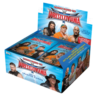 WWE Grab Bag of 12 Different Base Cards from 2016 WWE Road to Wrestlemania Series