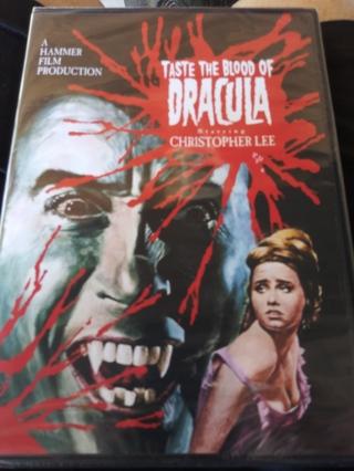 Taste the Blood of Dracula DVD Factory sealed