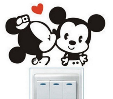 Mickey/Minnie Wall Sticker