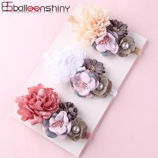 BalleenShiny Artificial Flower Headband Newborn Baby Girls Fashion Princess Sweet Headdress Child