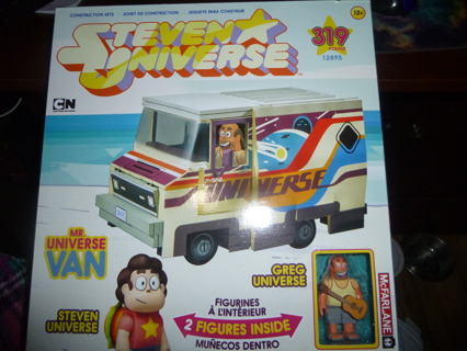 New McFarlane Toys Steven Mr. Universe Van Large Construction Set