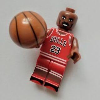 New Michael Jordan Minifigure Building Toys Custom Lego