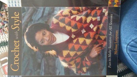 Big book of crochet sweaters