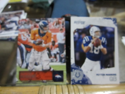 ***2010 / 2016 FOOTBALL CARDS***PEYTON MANNING***COLTS / BRONCOS***