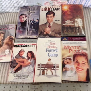 7 Classic VHS tapes all to the winner !