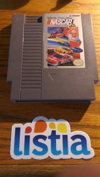 NES NINTENDO NASCAR GAME