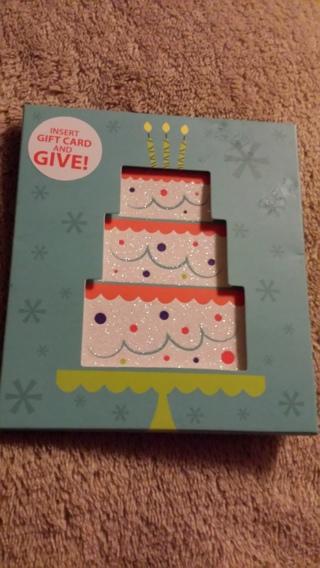 Brand New gift card holder