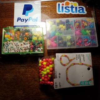 Plastic beads for kids