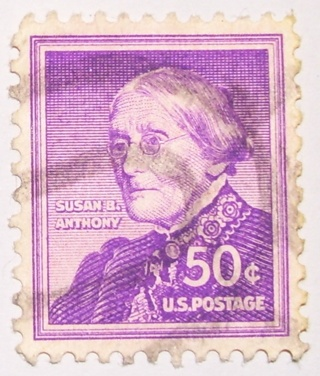 50 Susan B Anthony US Postage Stamp