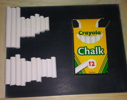 2 Used Crayola Chalk Boxes - FREE SHIPPING!