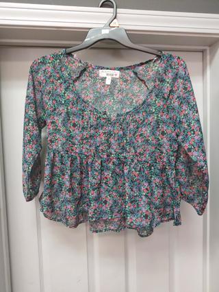 NwT! Derek Heart Ladies Shirt --Size M