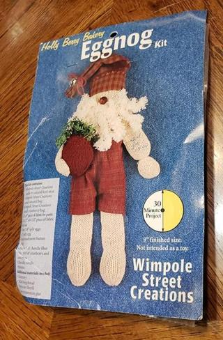 *Wimpole Street Creations Eggnog Kit--NIP