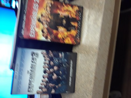 2 DVD EXPENDABLES 1 & 2
