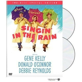2 dvd set-singing` in the rain-gene kelly-debbie reynolds-used-ex