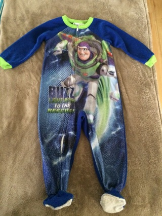 Toddlers 4T Disney Toy Story pajama