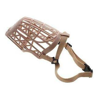 Adjustable Pet Dog Basket Muzzle Protection Mask Mouth Mesh Cage #5 for Training