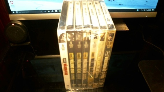 """New Sealed Unopened DVD'S: """"AMC'S The Walking Dead Complete Seasons One ~ Seven"""""""