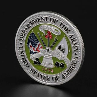 Department Of The Army Ranger Commemorative Coin Souvenir Collection Craft Gift