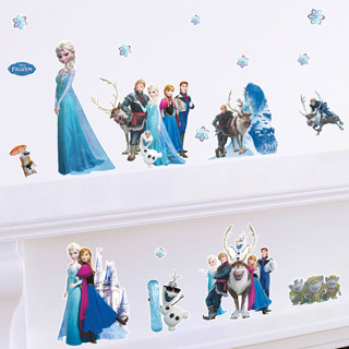 Removable DIY FROZEN Elsa & Anna Wall Stickers Decal Art Decor Children's Room