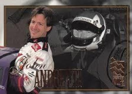 John Andretti - 1996 Press Pass VIP #1 - NASCAR STAR - Mint card