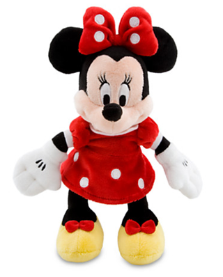 Disney Store Minnie Mouse Plush Doll free shipping