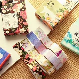 Misstime Paper Masking Tapes Japanese Washi Tape Diy Scrapbooking Sticker Stationery School Suppli