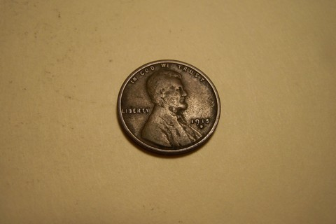 Low Mintage 1915-D Lincoln Wheat Cent Wheatie Penny