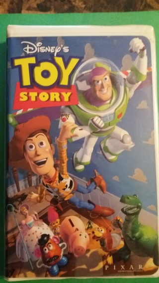 vhs toy story free shipping