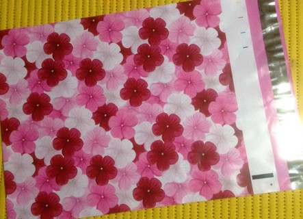 """7 HIBISCUS 10"""" x 13"""" Poly Mailers"""