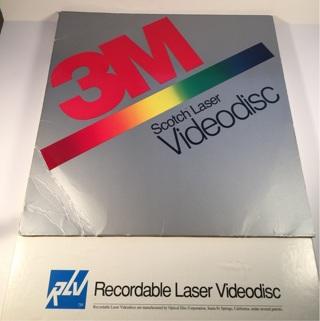 Vintage Laser Videodiscs