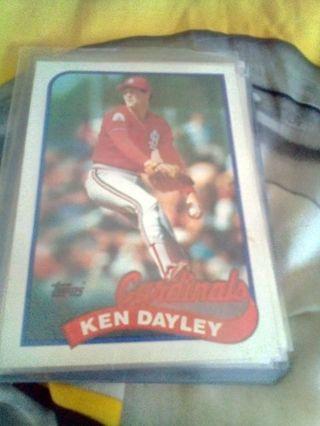 1989 Topps #409 Ken Dayley