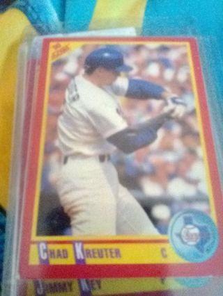 1990 Score #406 Chad Kreuter