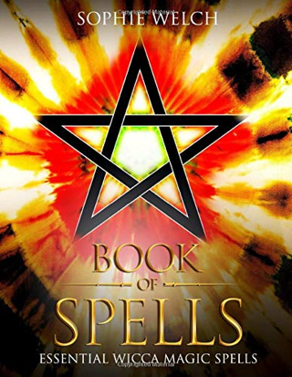 Book Of Spells: Essential Wicca Magic Spells [Paperback] FREE SHIPPING