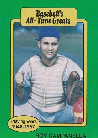Roy Campanella 2 Baseball Card Lot
