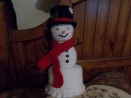 Snowman Bathroom Tissue Cover
