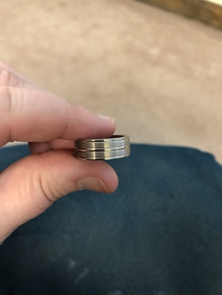 Brand new without tags men's size 9 wedding band