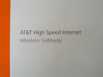 AT&T High Speed Internet Wireless Gateway