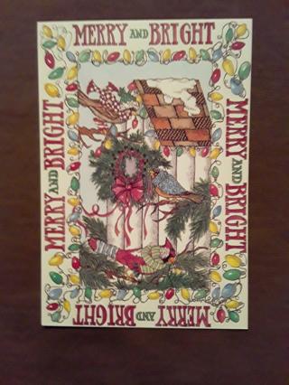 Christmas Cards - Birdhouse