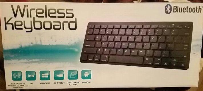 NEW Bluetooth wireless keyboard