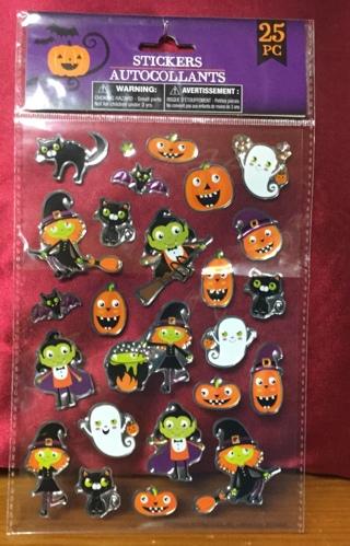 Halloween Stickers-new