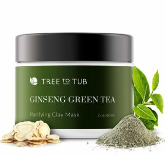 NEW TREE TO TUB GINSENG TEA TREE PURIFYING CLAY FACE MASK