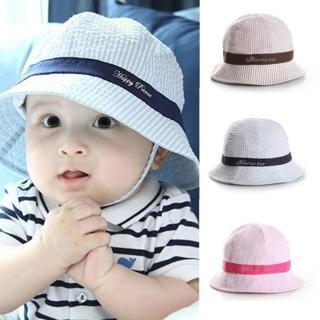 6-24Months Fashion Hot Toddler Baby Girl Boys Hat Infant Sun Cap Beach Bucket Hats Cute
